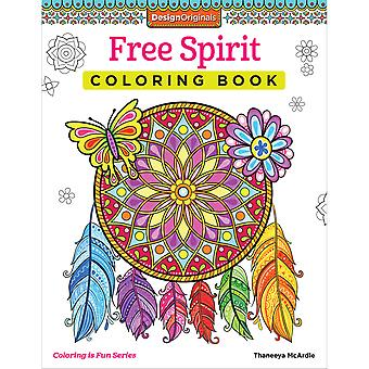 Design Originals-Free Spirit Coloring Book DO-5532