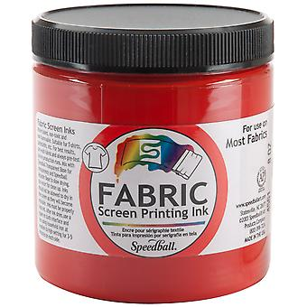 Fabric Screen Printing Ink 8 Ounces Red Fspi8 4561