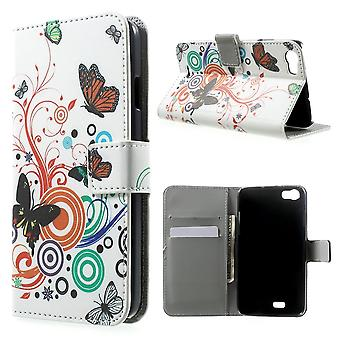 Cover butterflies PU leather for Kiritkumar Lenny supported and door cards