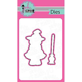 Pink And Main Dies-Best Witches, 2/Pkg PNM009