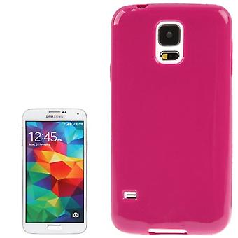 Protective case TPU case for mobile Samsung Galaxy S5 / S5 neo pink