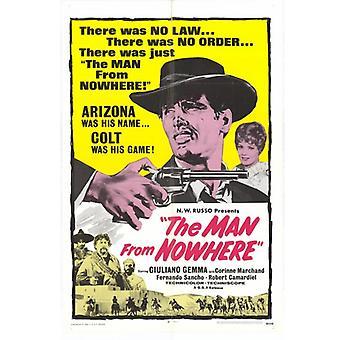 Mand fra intetsteds film plakat Print (27 x 40)