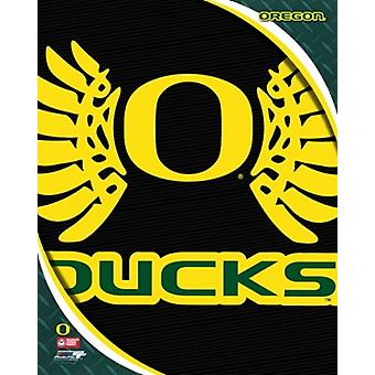 University of Oregon Ducks Team Logo Sports Photo (8 x 10)