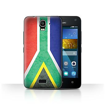 STUFF4 Case/Cover for Huawei Y3/Y360/South Africa/African Flag