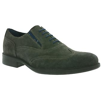 GEOX Respira U H Carnaby shoes Brown Evergreen