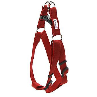 Doodlebone Bold Nylon Harness Red Small 20mm X 30-50cm