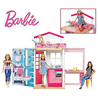 Barbie Y Su Casa (Toys , Dolls And Accesories , Dolls , Houses)