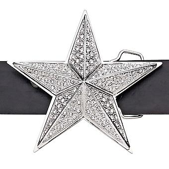 Iced out bling belt - 3D STAR II