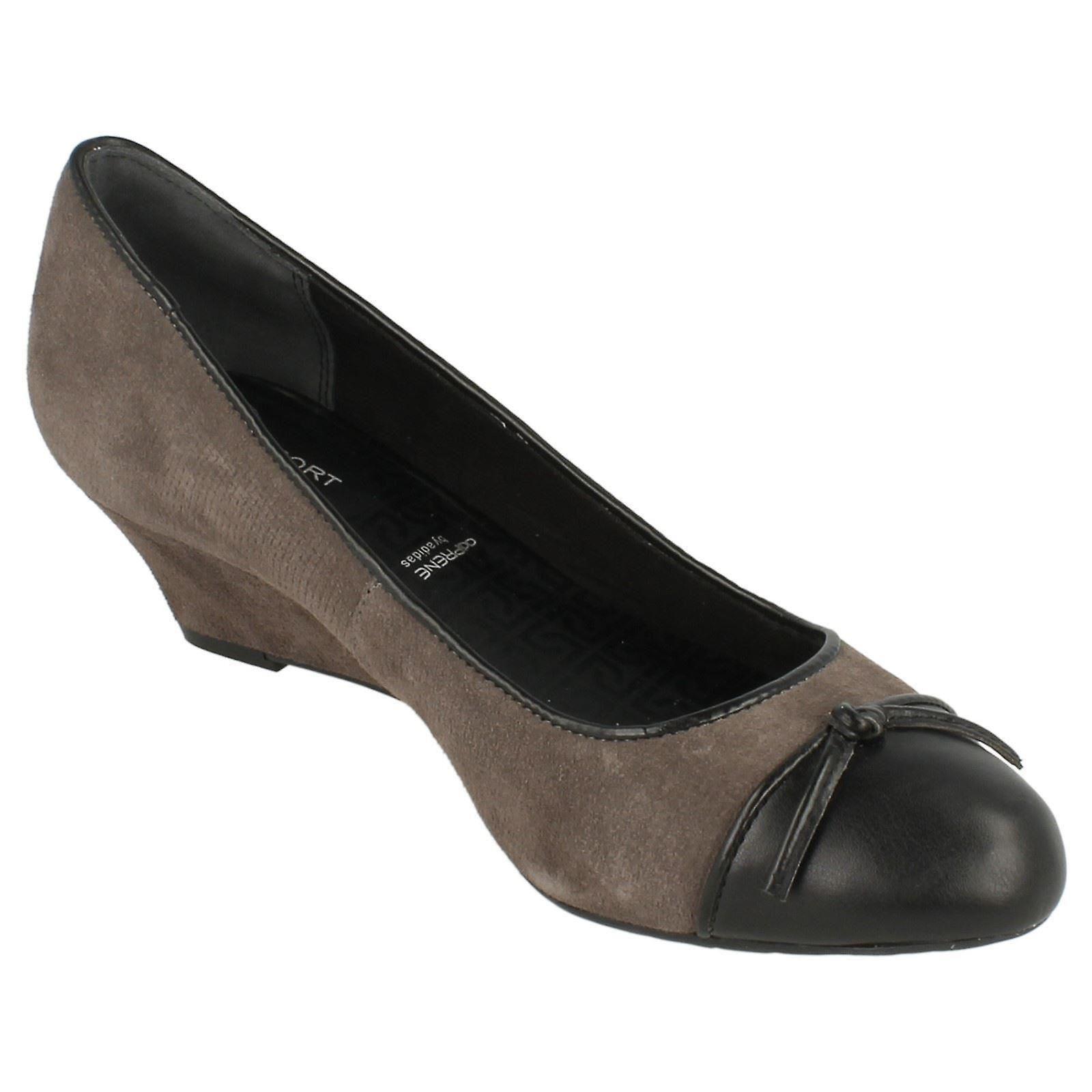 Dame Rockport Smart Casual kilet Ballerina - størrelse 4