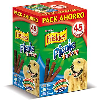 Friskies Picnic Snacks Candy Assortment: Beef, chicken and lamb 380 Gr