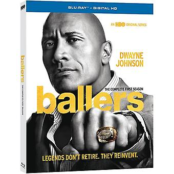Ballers: The Complete First Season [Blu-ray] USA import