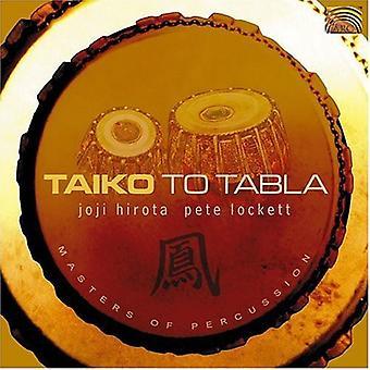 Hirota/Lockett - Taiko to Tabla [CD] USA import