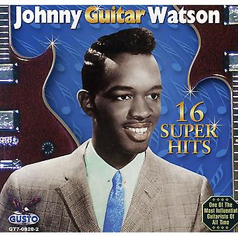 Johnny Guitar Watson - 16 Super Hits [CD] USA import