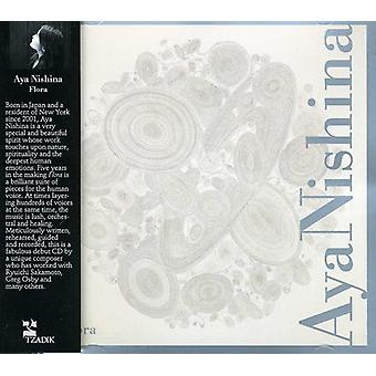 Aya Nishina - Flora [CD] USA import