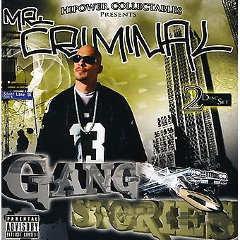 Mr. Criminal - bande fortællinger [CD] USA import