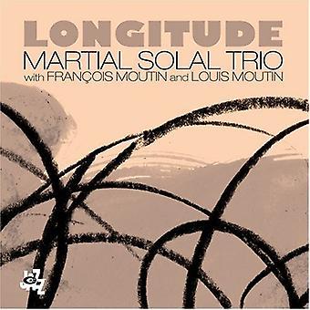 Solal Trio, Martial - længdegrad [CD] USA importerer