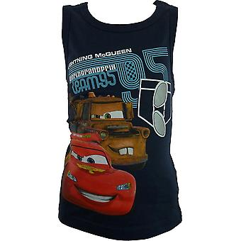 Boys Disney Cars Sleeveless T-shirt | Top