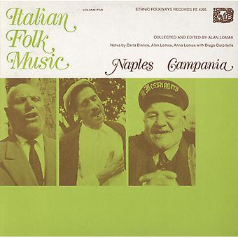 Italian Folk Music - Italian Folk Music: Vol. 5-Naples & Campania [CD] USA import