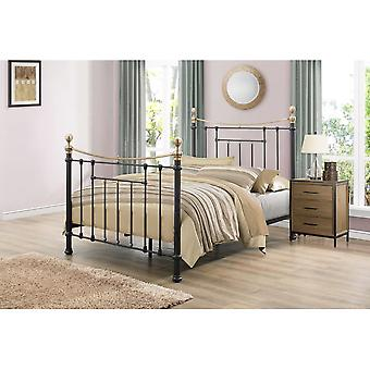 Birlea 150cm Bronte Bed sort