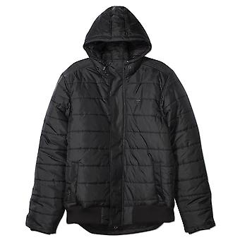 Lrg Osborne Hooded Puffy Jacket Black