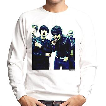 The Libertines Pete Doherty Smoking Men's Sweatshirt