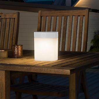 Konstsmide ソーラー電源調光 LED ガーデン テーブル ライト ホワイト
