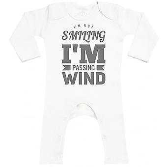 Spoilt Rotten I'm Passing Wind Baby Footless Romper