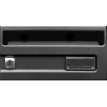 BTV Buzon G1 Silver Black 245X370 (DIY , Hardware , Home hardware , Mailboxes)