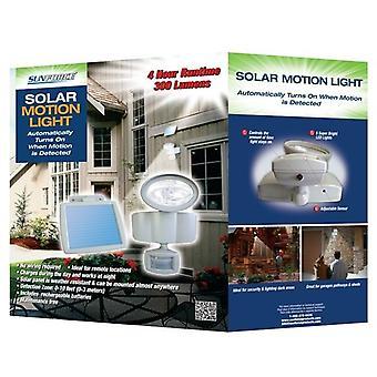 Sunforce solaire a mené la nouvelle Motion capteur sécurité lumière avec panneau solaire