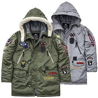Alpha industries jacket N3-B patch