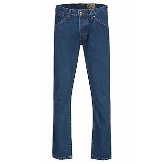 Wrangler boy tone trousers mens jeans blue W16E-05-83Y