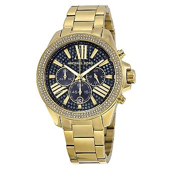 Michael Kors Watches Mk6291 Wren Gold Stainless Steel Ladies Watch