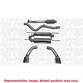 CORSA Performance Cat Back Exhaust 14864 Polished Fits:SCION 2013 - 2015 FR-S
