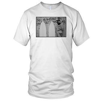 Banksy Surfer - Surfing Surf Beach Ladies T Shirt