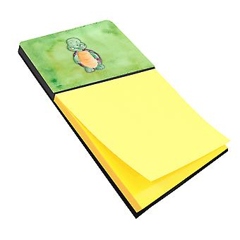 Carolines Treasures  BB7382SN Turtle Watercolor Sticky Note Holder