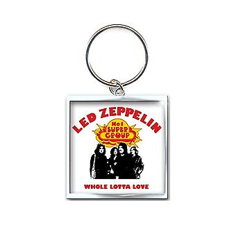 Led Zeppelin Keyring Keychain Whole Lotta Love new Official