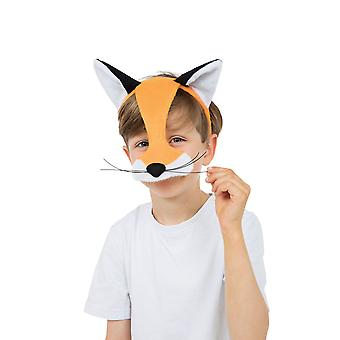 Fox Half Face Mask