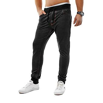 New mens of jogging jeans Jogg denim slim fit trousers freestyle rocker stretch