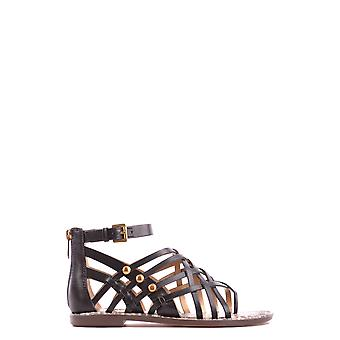Sam Edelman women's MCBI266005O black leather sandals