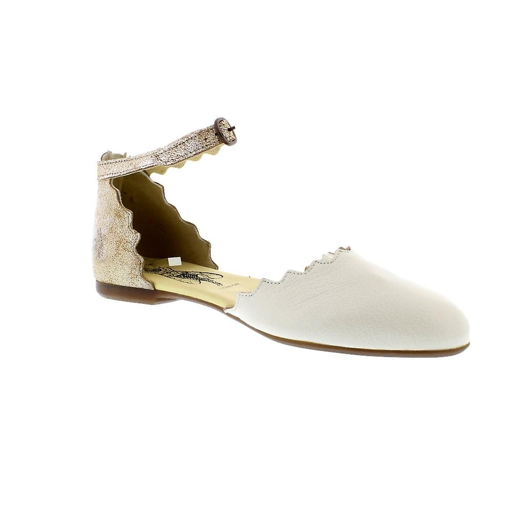 Fly London Megs - Off White/Pearl Mousse/Cool (Leather) Womens Shoes