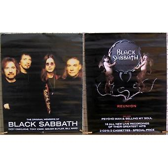 Black Sabbath Original Members Reunion Poster