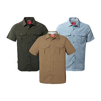 Craghoppers Mens Noslife Adventure Short Sleeve Shirt