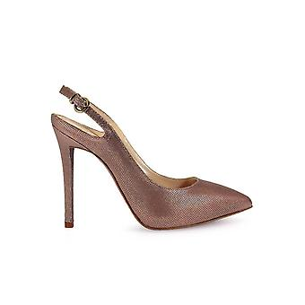 FRANCO COLLI LAMINATED SLING BACK PUMPS