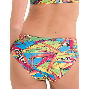 LingaDore 2916TWB-154 Women's Carnaval meerkleurig motief badmode Beachwear Bikini Bottom