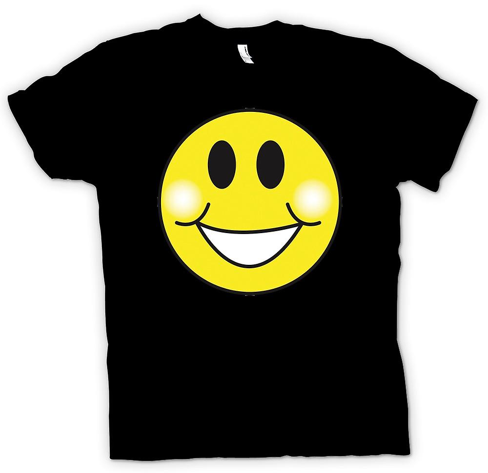 Herr T-shirt - Smiley Face - knubbiga kinder - Acid House