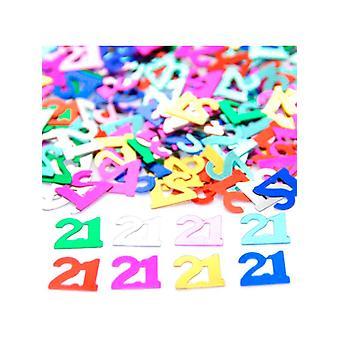 Confetti 21st Birthday