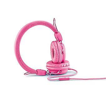 Roxcore ROX102 Street X5 Headphones with Mic - Pink Genuine