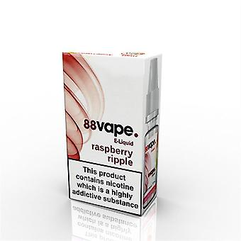 88 Vape E-Liquid Nicotine 16mg Raspberry Ripple 10ML
