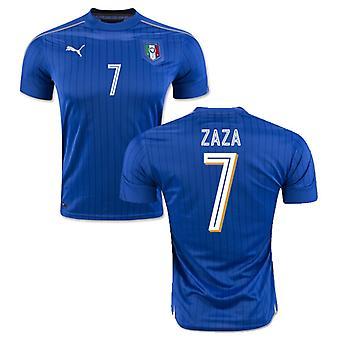 2016-2017 Italien Home Puma Shirt (Zaza 7)