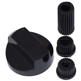 Ariston Universal fornuis/Oven/Grill bedieningsknop en adapters zwart